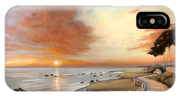Moonstone Cambria Sunset IPhone Case