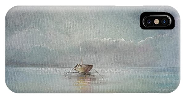 Moored Boat IPhone Case