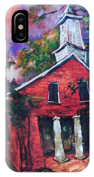 Mooresville Brick Church IPhone Case