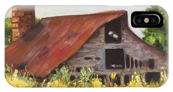 Mooresville N.c Barn IPhone Case