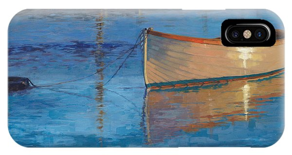 Moored In Light-sold IPhone Case