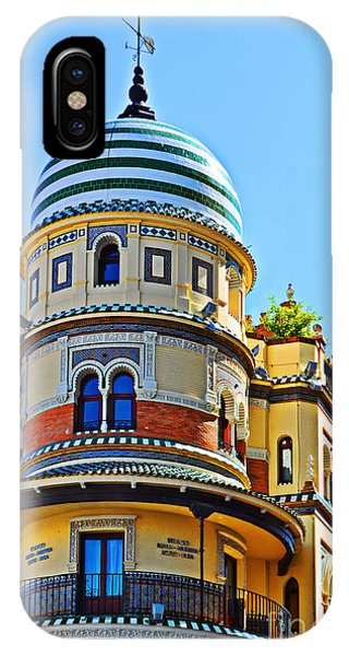 Moorish Tower With Hdr Processing IPhone Case