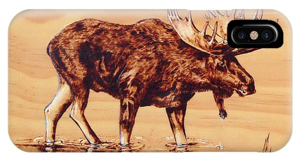 Moose Marsh IPhone Case
