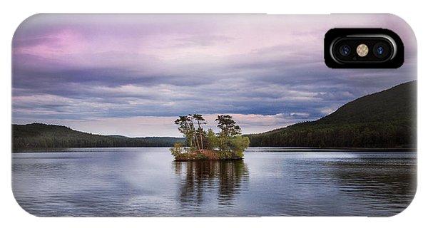 Moose Pond Maine IPhone Case