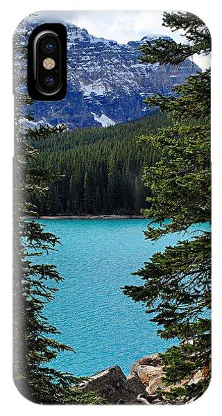 Moraine Lake 3 IPhone Case