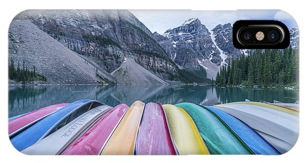 Moraine Lake Colors IPhone Case