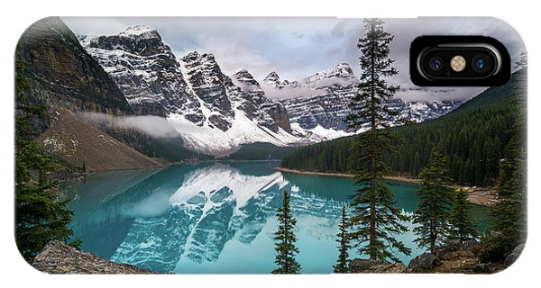 Moraine Lake In The Canadaian Rockies IPhone Case