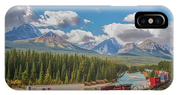 IPhone Case featuring the photograph Morant's Curve 2009 04 by Jim Dollar