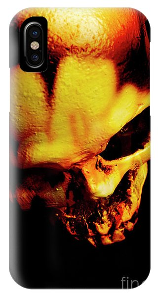 Object iPhone Case - Morbid Decaying Skull by Jorgo Photography - Wall Art Gallery