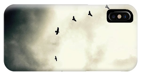Big Sky Crows IPhone Case