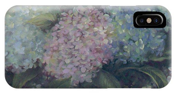 More Hydrangeas IPhone Case