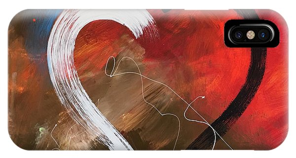 Hearts iPhone Case - More Love by Germaine Fine Art