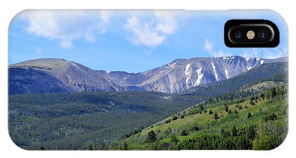 More Montana Mountains IPhone Case
