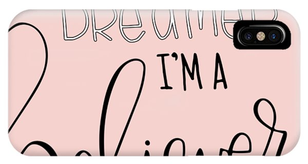 Office iPhone Case - More Than A Dreamer by Nancy Ingersoll