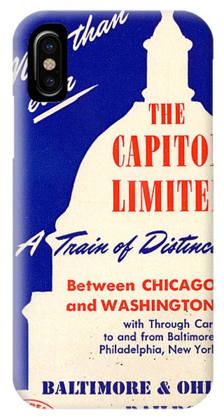 More Than Ever, The Capitol Limited IPhone Case