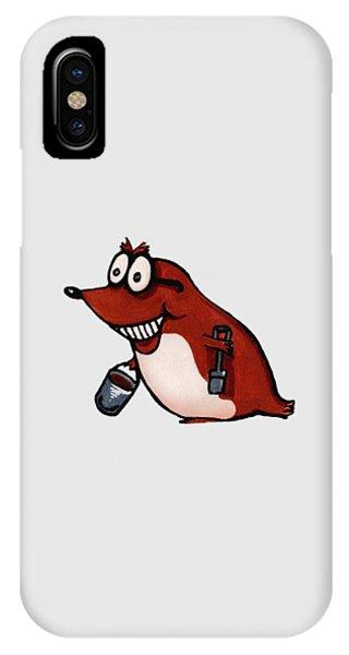 Morecambe Mole IPhone Case