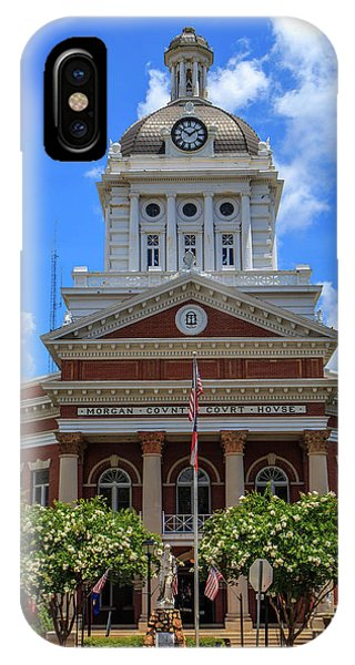 IPhone Case featuring the photograph Morgan County Court House by Doug Camara
