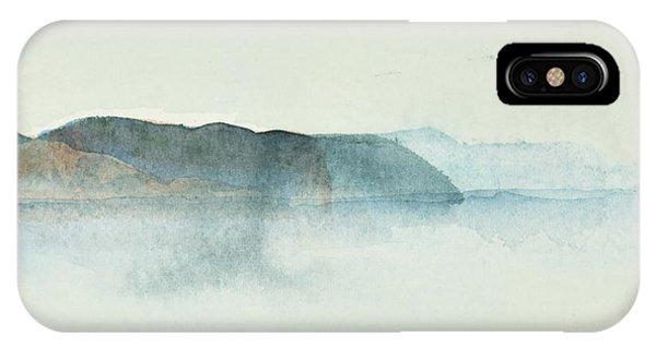 Morgondis Over Kusten - Morning Haze Over The Swedish Westcoast, Hunnebo_1211 Up To 70 X 70 Cm IPhone Case