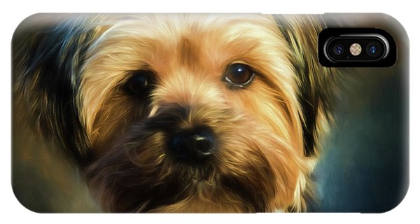 Morkie Portrait IPhone Case