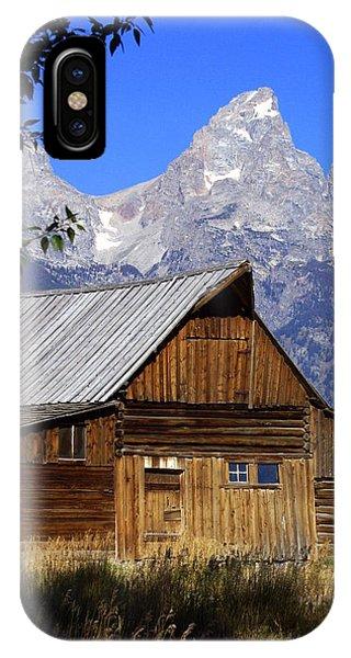 Mormon Row Barn  1 IPhone Case