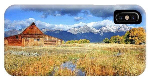 Mormon Row IPhone Case