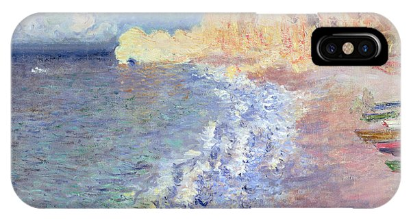 Normandy iPhone Case - Morning At Etretat by Claude Monet