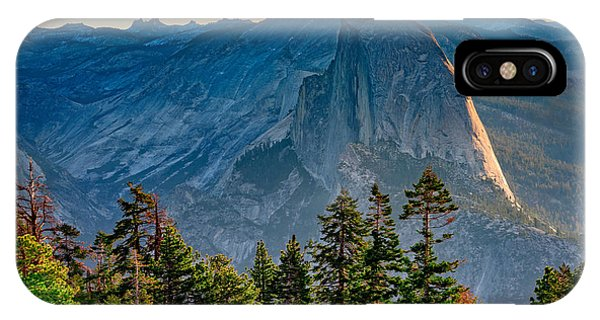 Sierra Nevada iPhone Case - Morning At Half Dome by Rick Berk