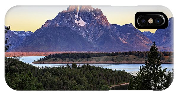 Morning At Mt. Moran IPhone Case