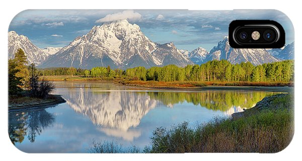 Morning At Oxbow Bend IPhone Case