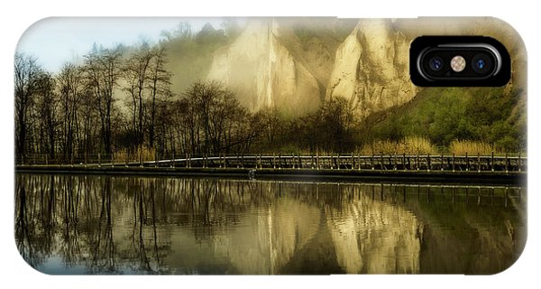 Morning At The Bluffs IPhone Case