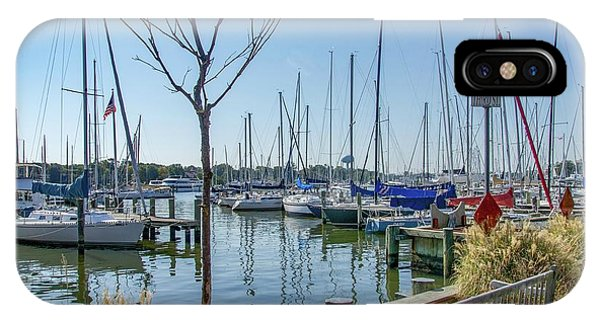 Morning At The Marina IPhone Case