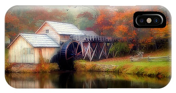 Morning At The Mill IPhone Case