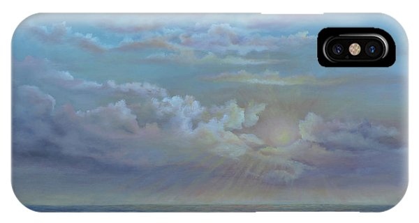 Morning At The Ocean IPhone Case