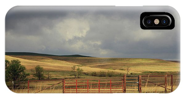 Morning At The Tallgrass Prairie IPhone Case
