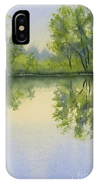 Morning At Turtle Pond IPhone Case