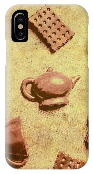 Kettles iPhone Case - Morning Breakfast Chocolate Tea Set  by Jorgo Photography - Wall Art Gallery