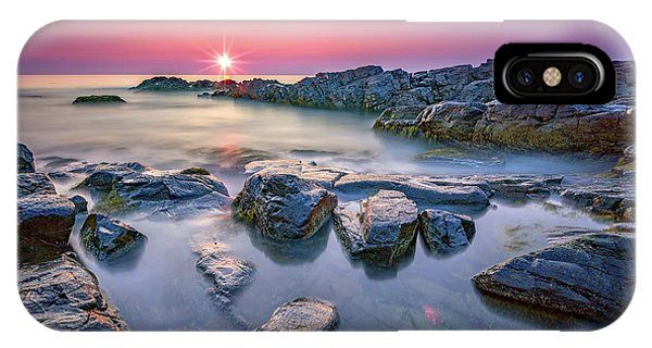 Morning Calm On Marginal Way IPhone Case