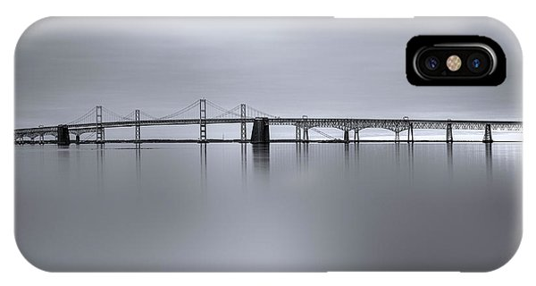 Chesapeake Bay iPhone X Case - Morning Calm by Robert Fawcett