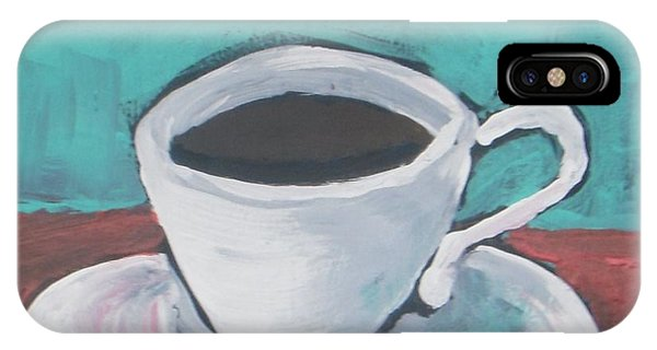 Morning iPhone Case - Morning Coffee by Vesna Antic