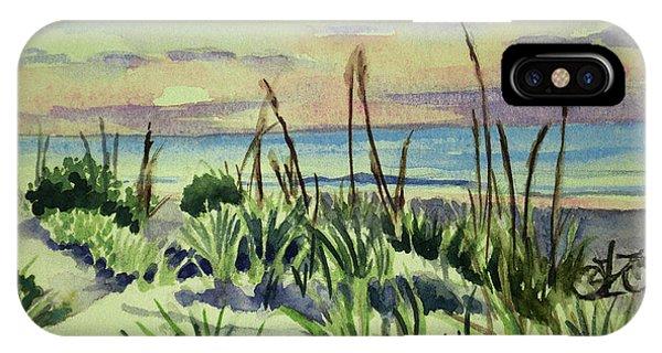 Morning Dunes  7-7-2017 IPhone Case