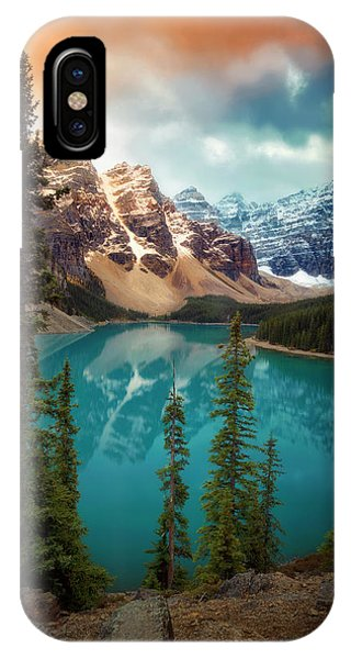 Morning Eruption  IPhone Case