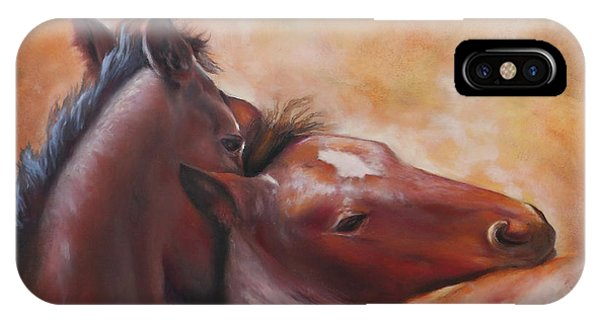 Morning Foals IPhone Case
