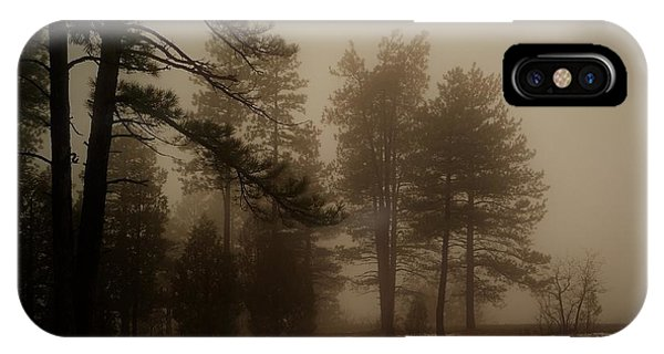 IPhone Case featuring the photograph Morning Fog by Broderick Delaney