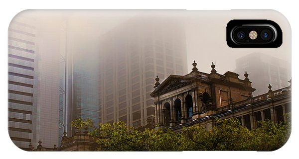 Morning Fog Over The Treasury IPhone Case