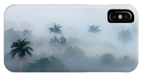 Morning Fog, Vinales Valley IPhone Case