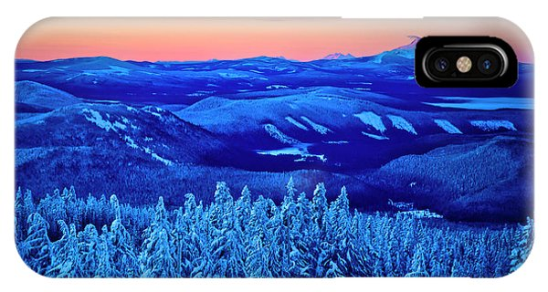 Morning From Timberline Lodge IPhone Case