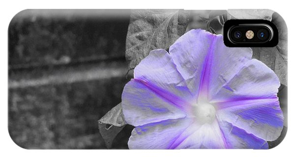 Morning Glory Flower IPhone Case