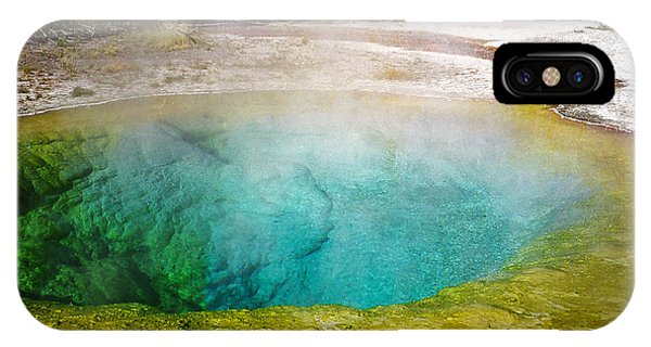 Morning Glory Pool Yellowstone National Park IPhone Case