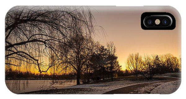 Morning Glow Along Hoyt Lake IPhone Case