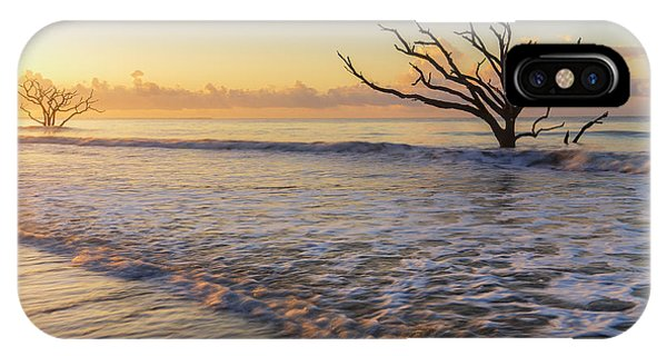 Morning Glow At Botany Bay Beach IPhone Case